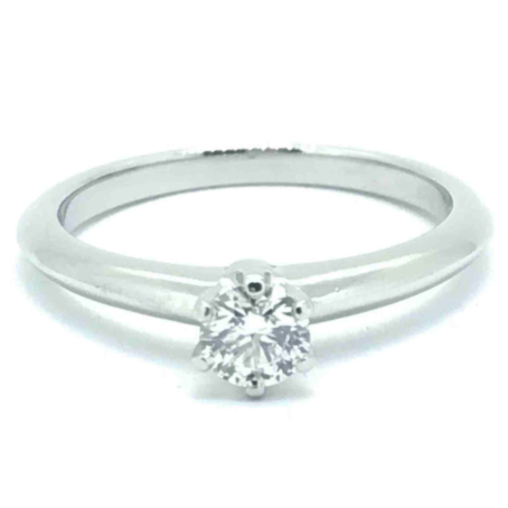 Tiffany & Co. Solitaire 0.31ct Round Diamond Engagement Ring Rings Tiffany & Co.