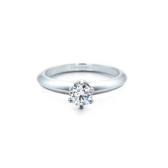 Tiffany & Co. Solitaire 0.33ct Round Diamond Engagement Ring Rings Tiffany & Co.