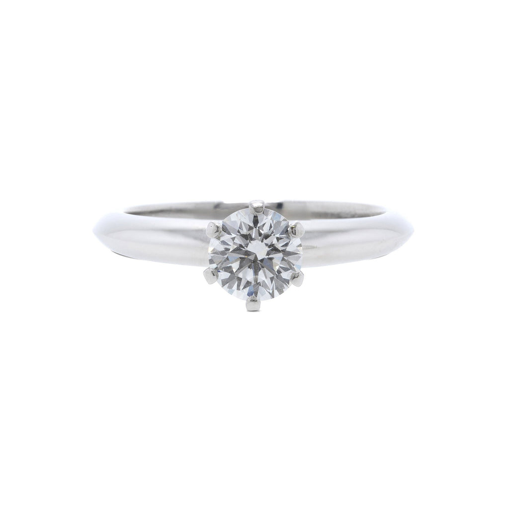 Tiffany & Co. Solitaire 0.70 ct. Round Diamond Engagement Ring Rings Tiffany & Co.