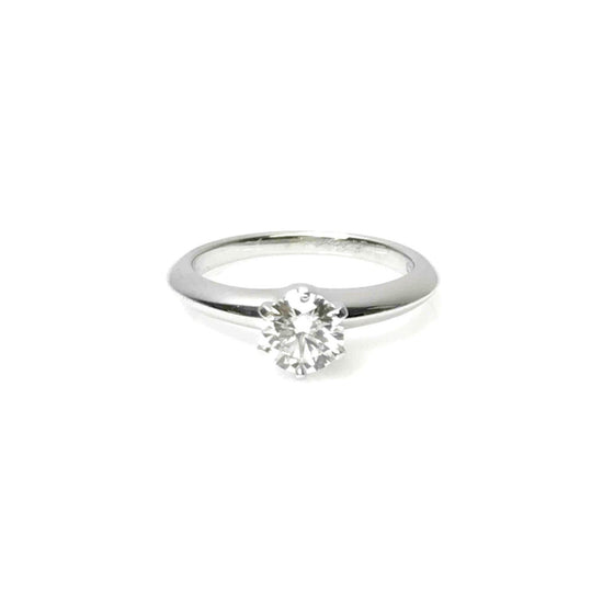 Tiffany & Co. Solitaire 0.71ct Round Diamond Engagement Ring Rings Tiffany & Co.