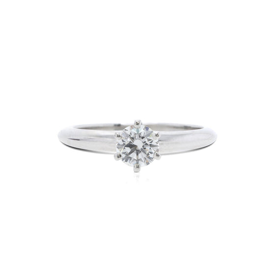 Tiffany & Co. Solitaire 0.72 ct. Round Diamond Engagement Ring Rings Tiffany & Co.