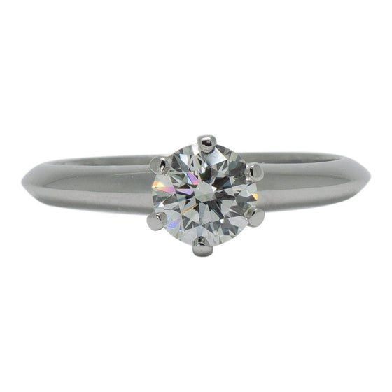Tiffany & Co. Solitaire 0.73ct Round Diamond Engagement Ring Rings Tiffany & Co.