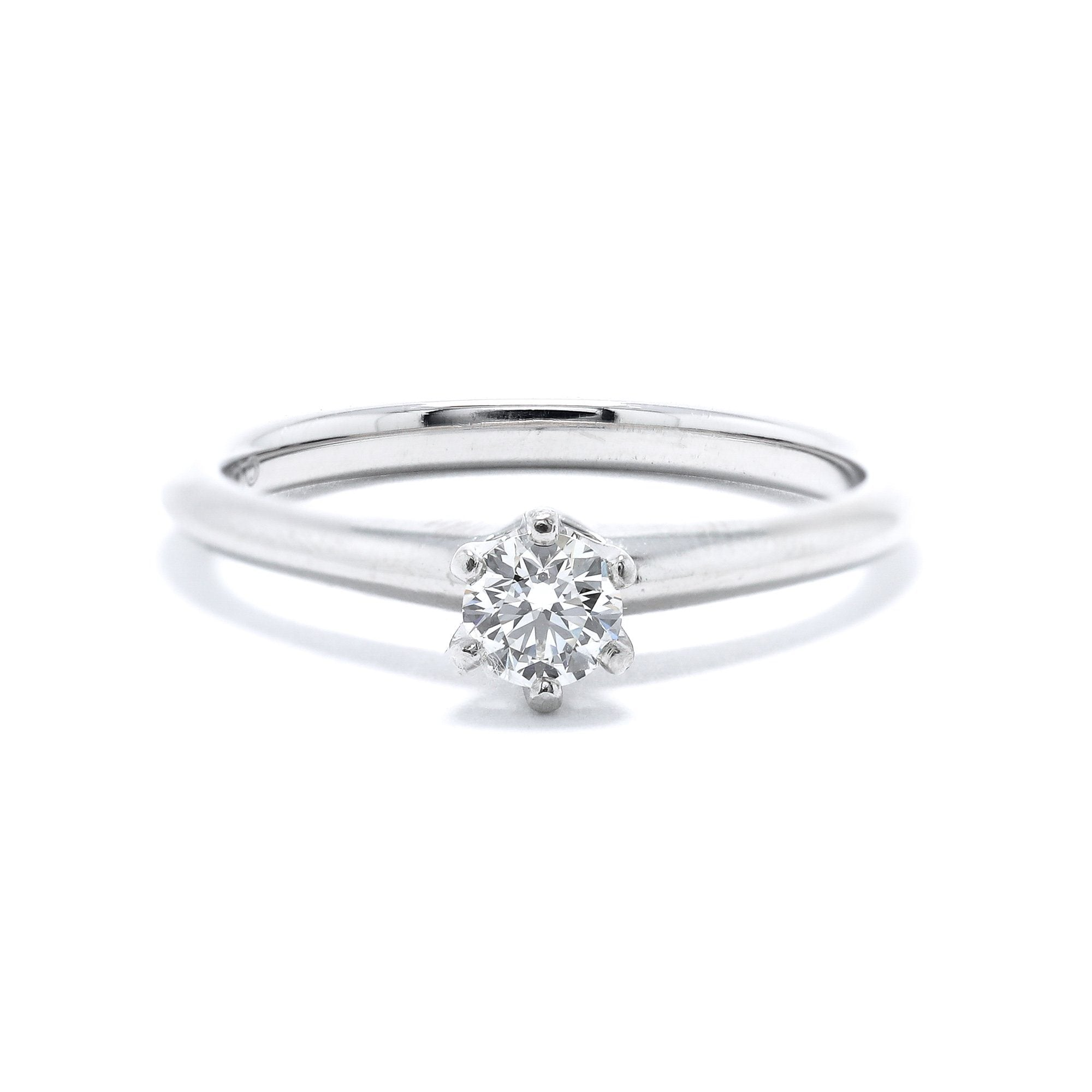9b83f2e98 Tiffany & Co. Solitaire Diamond Engagement Ring– Oliver Jewellery