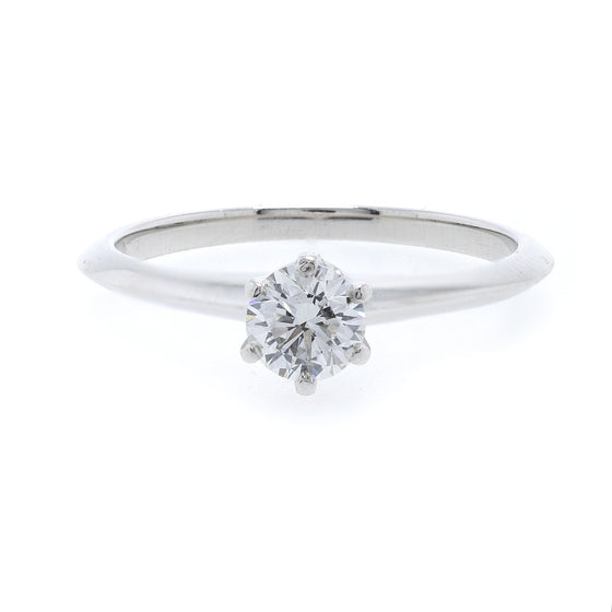 Tiffany & Co. Solitaire Diamond Engagement Ring Rings Tiffany & Co.