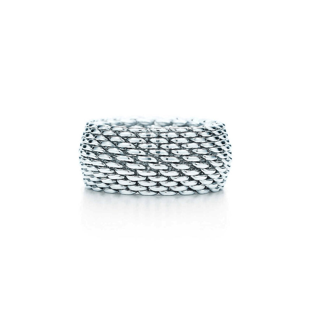 Tiffany & Co. Sterling Silver Somerset Ring Rings Tiffany & Co.
