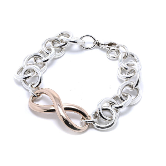 Tiffany & Co. Two-Tone Infinity Link Bracelet Bracelets Tiffany & Co.