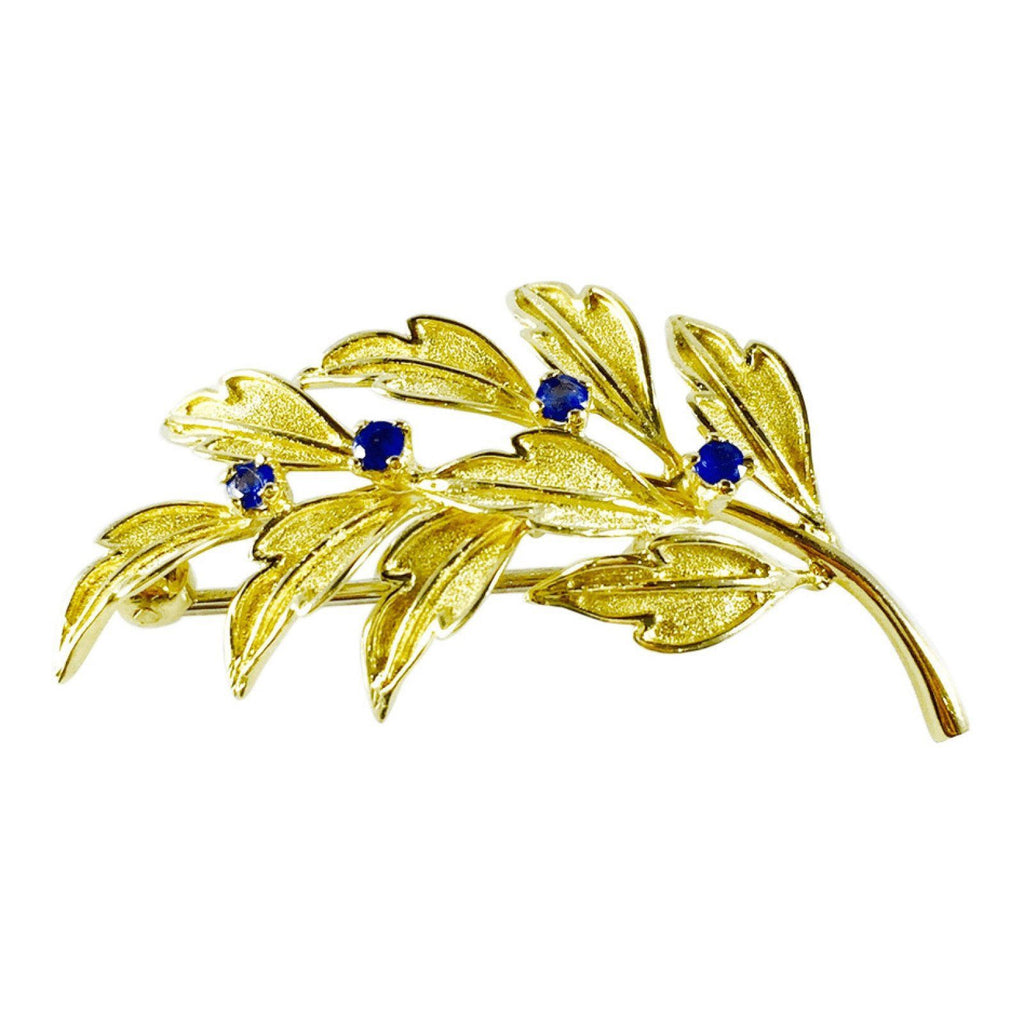 Tiffany & Co. Vintage Leaf Brooch Brooches & Pins Tiffany & Co.