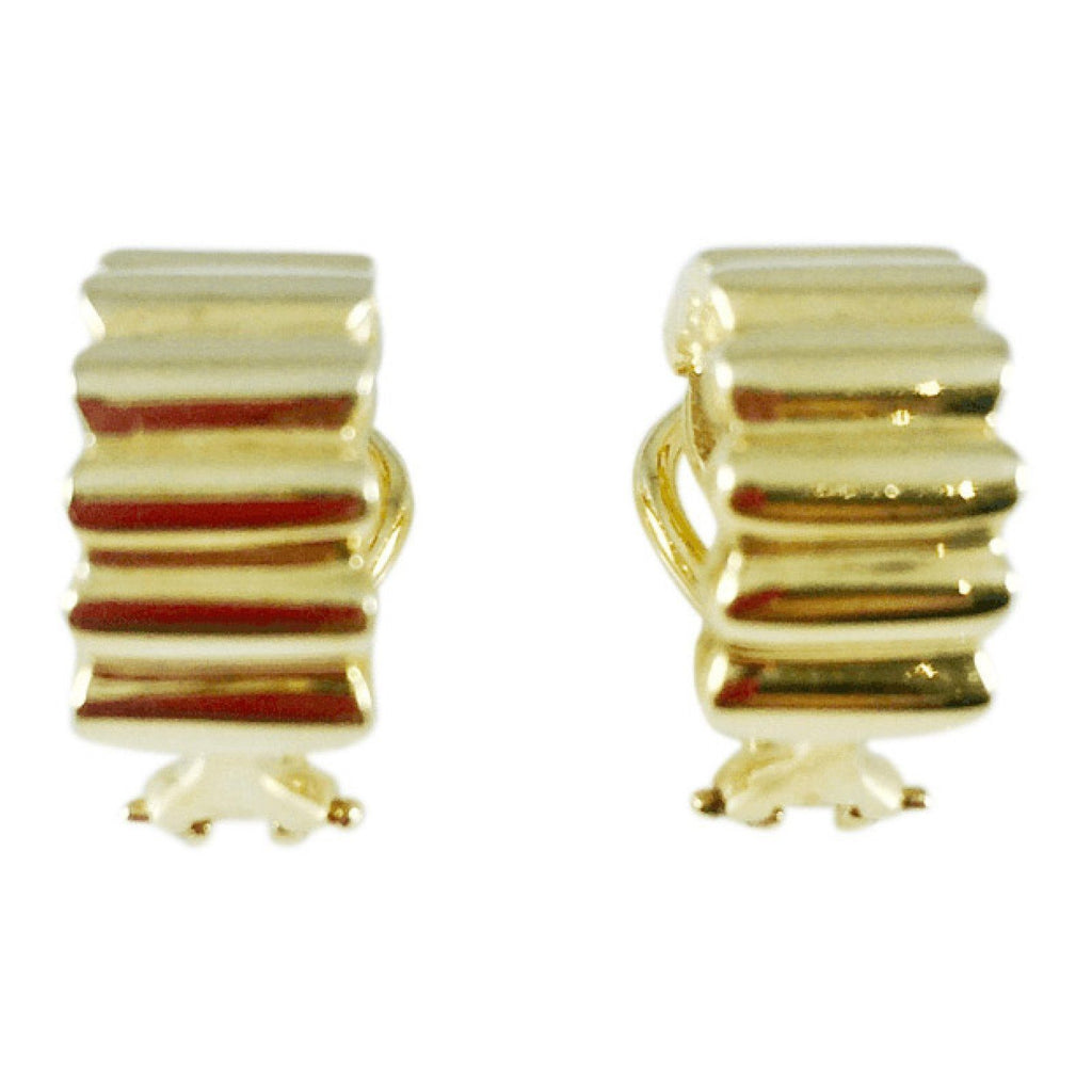 Tiffany & Co. Vintage Ribbed Earrings Earrings Tiffany & Co.