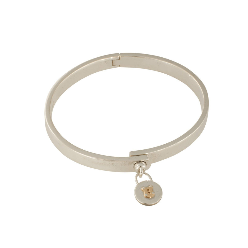Tiffany & Co. Vintage Round Lock Bangle Bracelets Tiffany & Co.