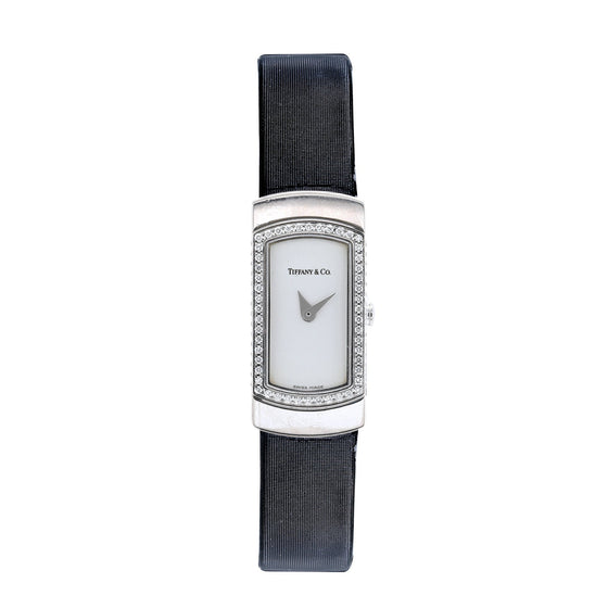 Tiffany & Co. White Gold & Diamond Classique Watch Watches Tiffany & Co.