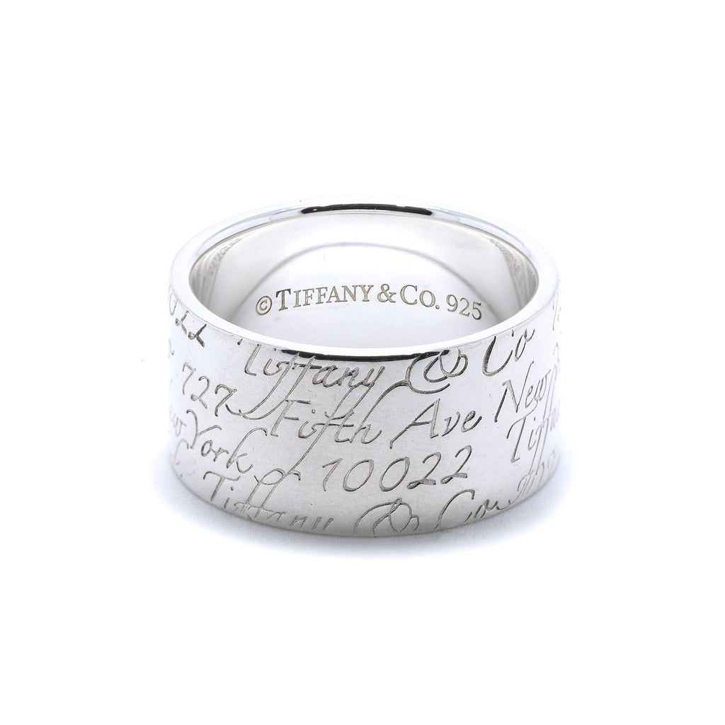 Tiffany & Co. Wide Notes Ring Rings Tiffany & Co.