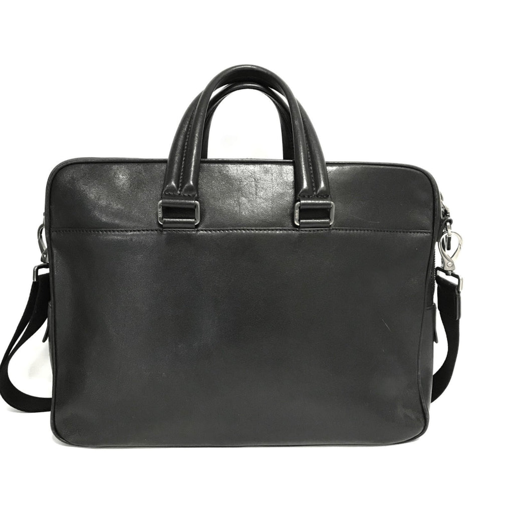 Tods Black Leather Laptop Bag Bags Miscellaneous