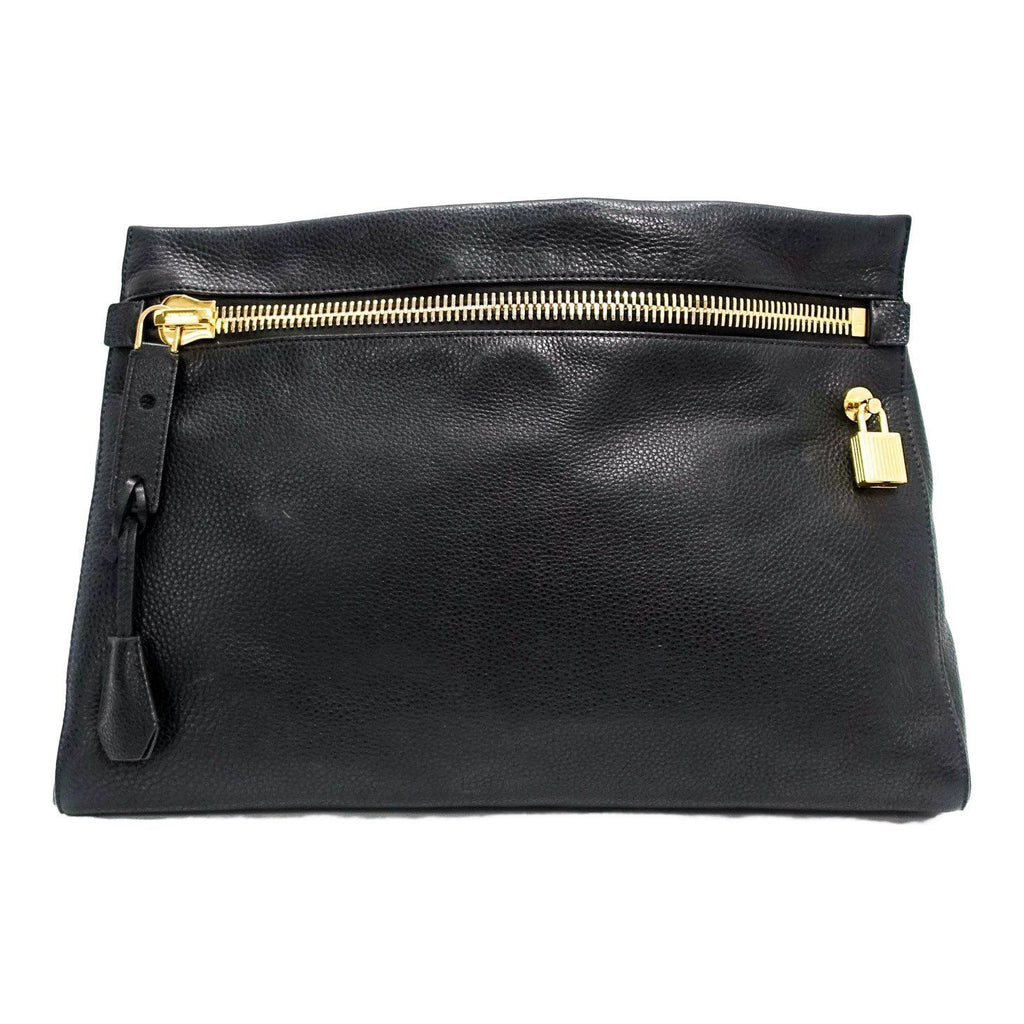 Tom Ford Black Small Alix Clutch Bags Tom Ford