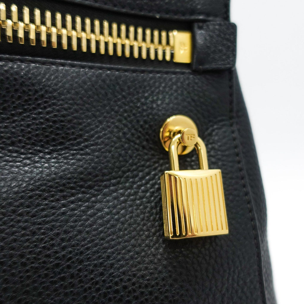 Tom Ford Black Small Alix Clutch - Bags