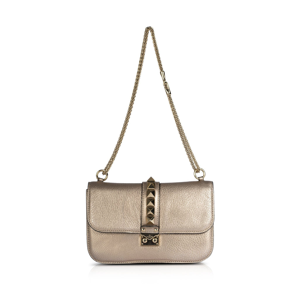 Valentino Medium Glam Lock Shoulder Bag Bags Valentino
