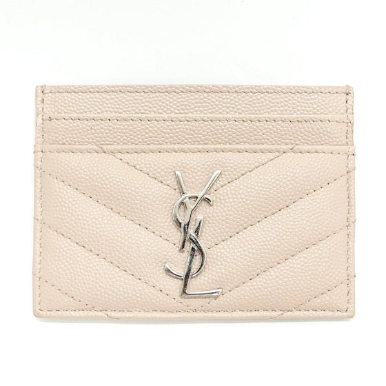 YSL Pale Blush Credit Card Case Accessories YSL