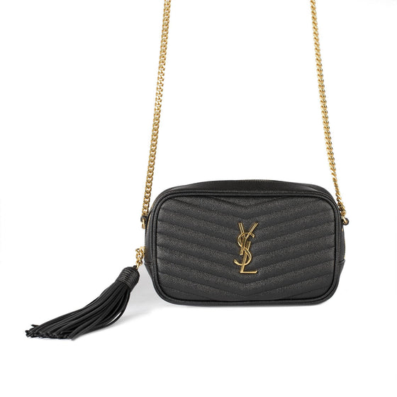 Yves Saint Laurent 2019 Matelasse Lou Mini Crossbody Bag Bags YSL