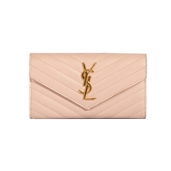 Yves Saint Laurent Large Monogram Wallet Wallets YSL