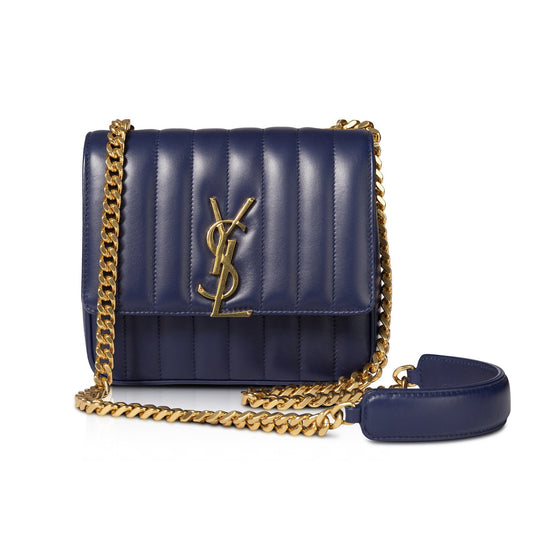 Yves Saint Laurent Medium Quilted Monogram Vicky Bag Bags YSL