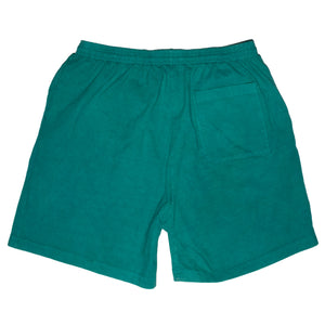 Emerald Ripple Logo Shorts