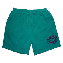 Load image into Gallery viewer, Emerald Ripple Logo Shorts