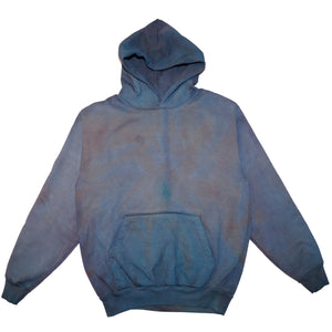 Multi Color Hand Dyed Hoodie - Large