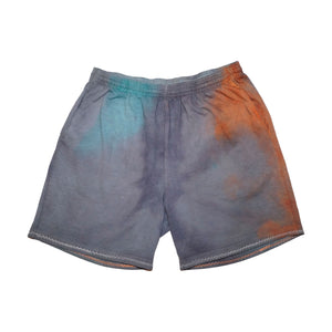 Multi Color Hand Dyed Shorts - Large