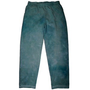 Forest Green Hand Dyed Sweatpants - XXL
