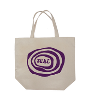 Load image into Gallery viewer, Ripple Logo Natural Tote Bag