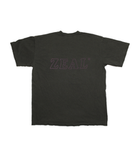 Load image into Gallery viewer, Washed Black Logo Tee - Large