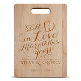 Still In Love Cutting Board - Muggalicious