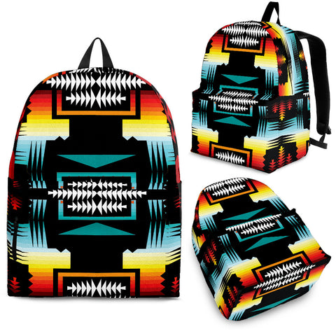 Sage Fire and Turquoise Backpack