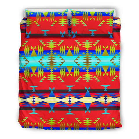 Between the Mountains  Bedding Set
