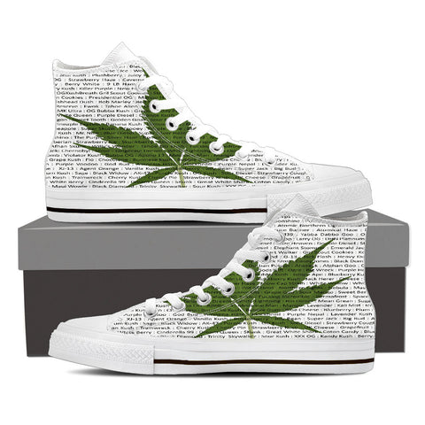 A Leaf By Any Other Name - High-top Sneakers for Men & Women - Muggalicious