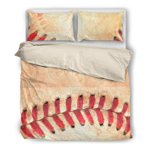 Baseball Stitches #2 Duvet and Pillow Cover Set - Muggalicious