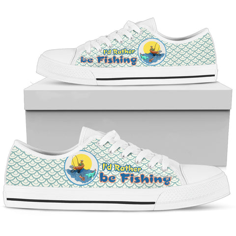 Fishing Women's Low Top Shoe