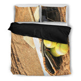 Baseball Stitches Duvet and Pillow Cover Set - Muggalicious