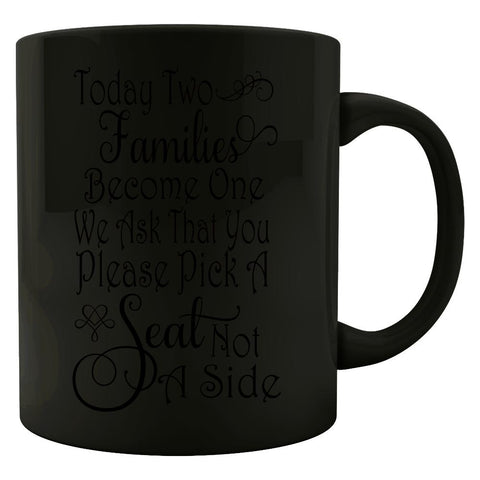 Two Families Become One - Colored Mug