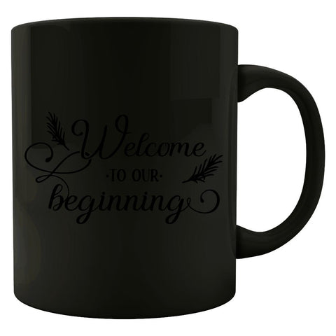 Welcome-To-Our-Beginning - Colored Mug