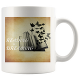 Reading is Dreaming White Mug