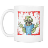 Zombies - Get Your Coffee & Run! White Mug