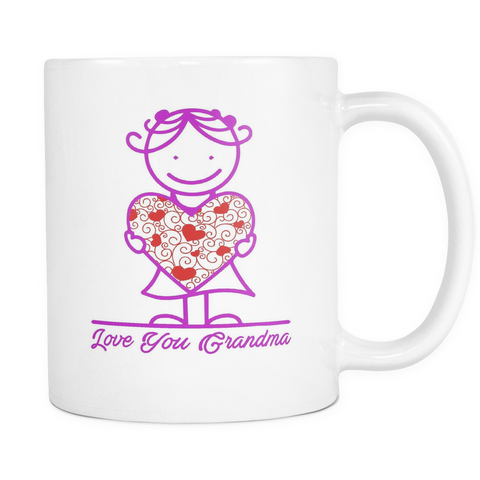 Love Grandma's Big Heart - Mug