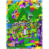 La Grande Jatte Interpreted - Woven Blanket