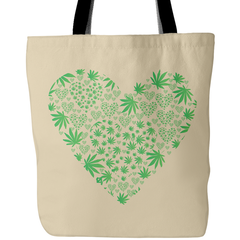 Love the Leaf Tote Bags