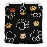 Paws All Over Me Duvet and Pillow Cover Set - Muggalicious