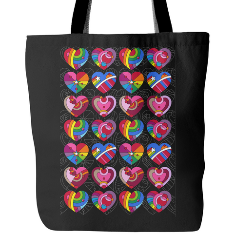 Pop Hearts - Tote Bags