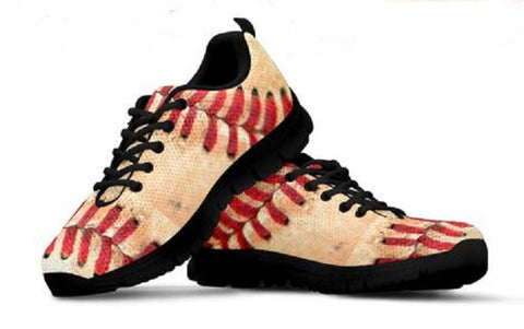 Baseball Stitch Game Day Sneakers for Men and Women - Muggalicious