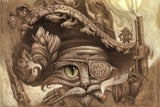 Mr. Steampunk Cat Wall Canvas - Muggalicious