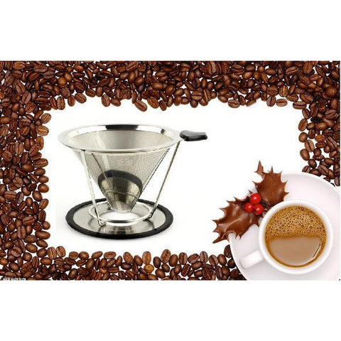 Modern, Newly Designed Coffee Dripper - Two Sizes