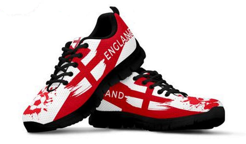 England World Cup Soccer Sneakers for Men and Women - Muggalicious